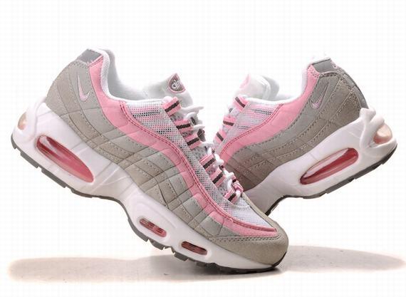 separation shoes 5febf 26d34 air max 95 blanche et rose NUSK cb6iDb