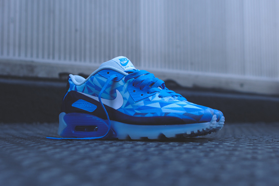 new style c8ae7 de6f4 air max 90 blue ice Looking xecFkgP