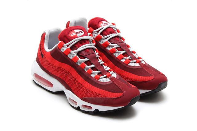 sale retailer fe9b4 b1088 air max 95 jacquard rouge NUSK kCluWf